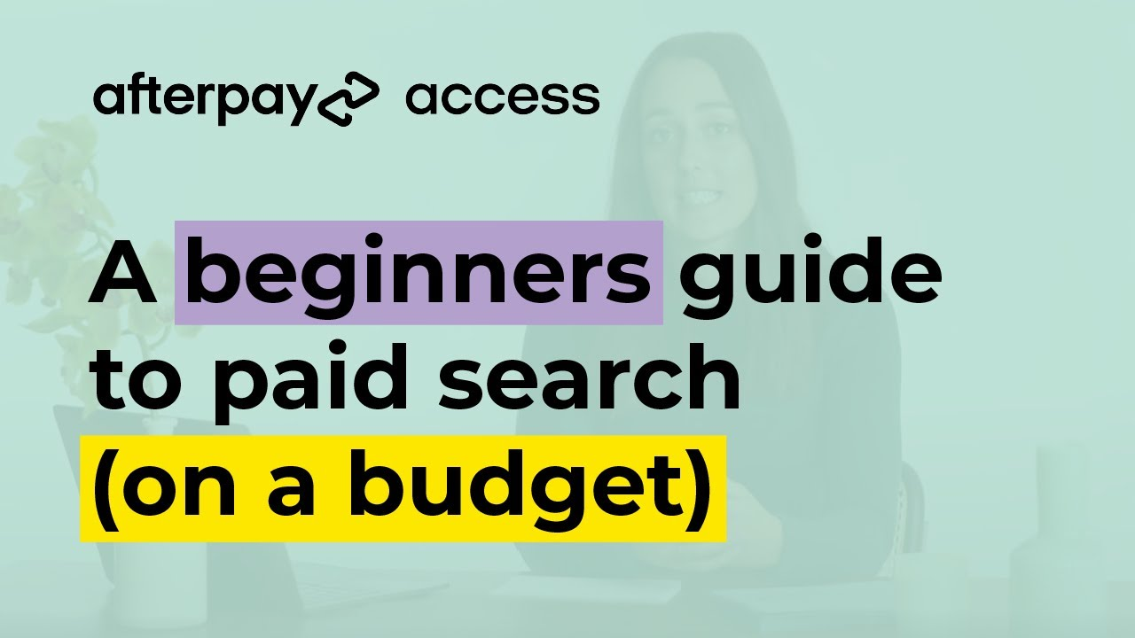 Instalment 3: Paid search and display advertising on a budget