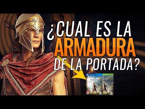 Assassin's Creed Odyssey | Como conseguir el SET de ARMADURA de la Portada del juego y LA ESPADA thumbnail