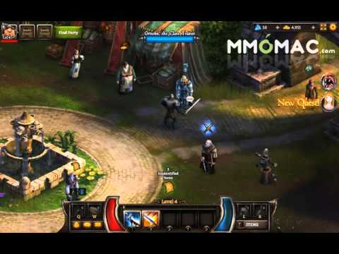 Kingsroad Free To Play Multiplayer Action Rpg For Mac