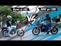 Boxer ct 100 vs BMW GS 1200 - in the CITY