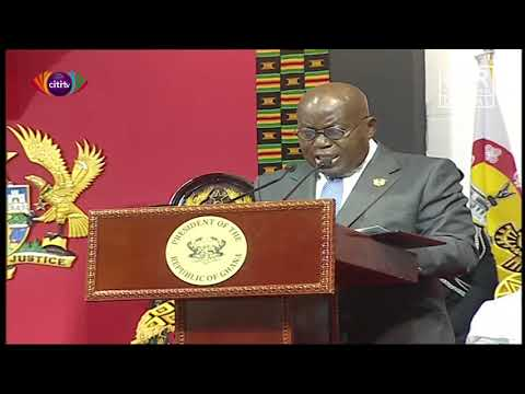 Nana Akufo-Addo Delivers Acceptance Speech After Being Sworn In For Second Term | Citi Newsroom