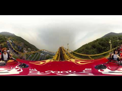 VR World _ RollerCoaster at Seoul Grand Park ( 360 VR )
