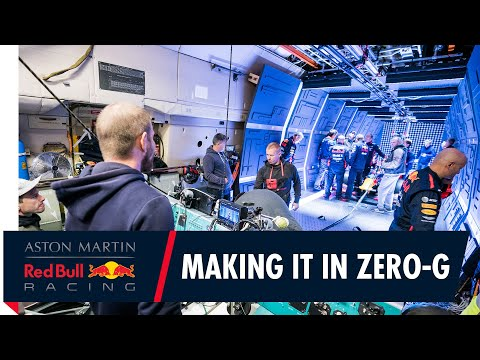 Making It In Zero-G   The Story Behind Aston Martin Red Bull Racing's Zero Gravity Pit Stop