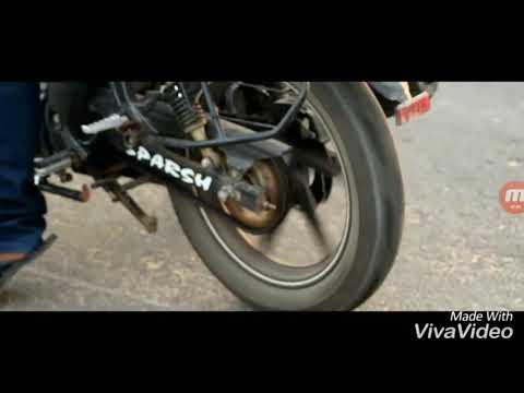 Apache RTR 180 Massive Burnout Moto Vlogs And Review 