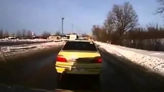 видео  с видеорегистратора взрыва автобуса под Волновахой Донецк война