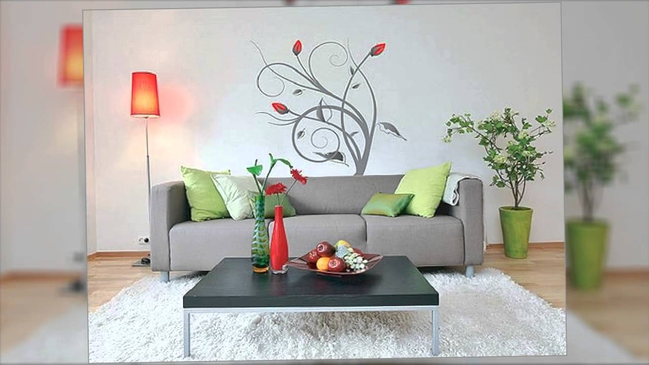 Decoracion de interiores con pintura coloridos youtube for Salas para casa chica