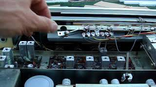 How to replace bulbs lights on vintage Sansui receiver