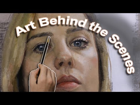 Art Behind the Scenes. Cesar Santos vlog 041