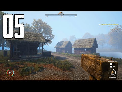 Medieval Dynasty - Part 5 - FALL HAS ARRIVED (Building Our Settlement)