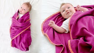 How To Make A Quick And Easy Baby Blanket