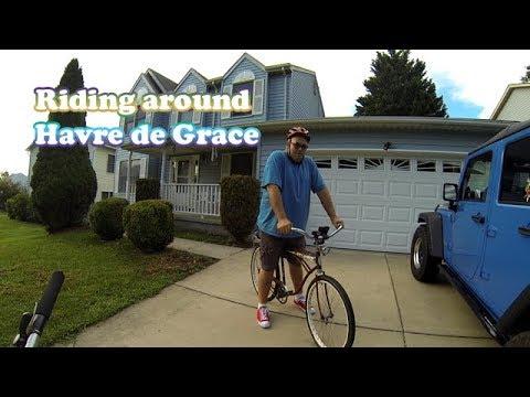 Bike Ride around Havre de Grace MD