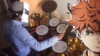 Haikyuu!! S3 ED -ハイキュー!!【マシ・マシ Mashi Mashi】 (Drum Cover) 叩いてみた