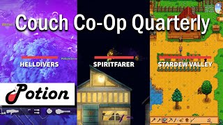 Couch Co-Op Multiplayer Games To Play: Helldivers, Spiritfarer, Stardew Valley