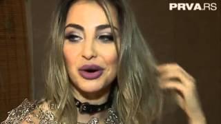 Maya Berović - Snimanje spota za pesmu Pauza - Exkluziv - (TV Prva 21.02.2016.)