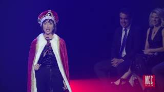 """Carmen Cusack performs """"You'll Be Back"""" From HAMILTON: AN AMERICAN MUSICAL"""