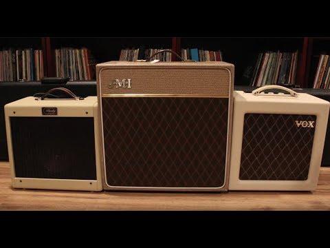 WSZ: Vox, JMI, Purdy - low-watt tube amps compared