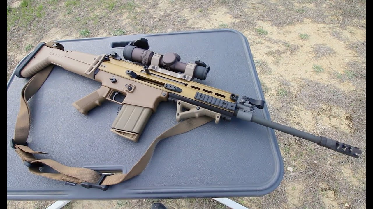shooting the fn scar 17s youtube