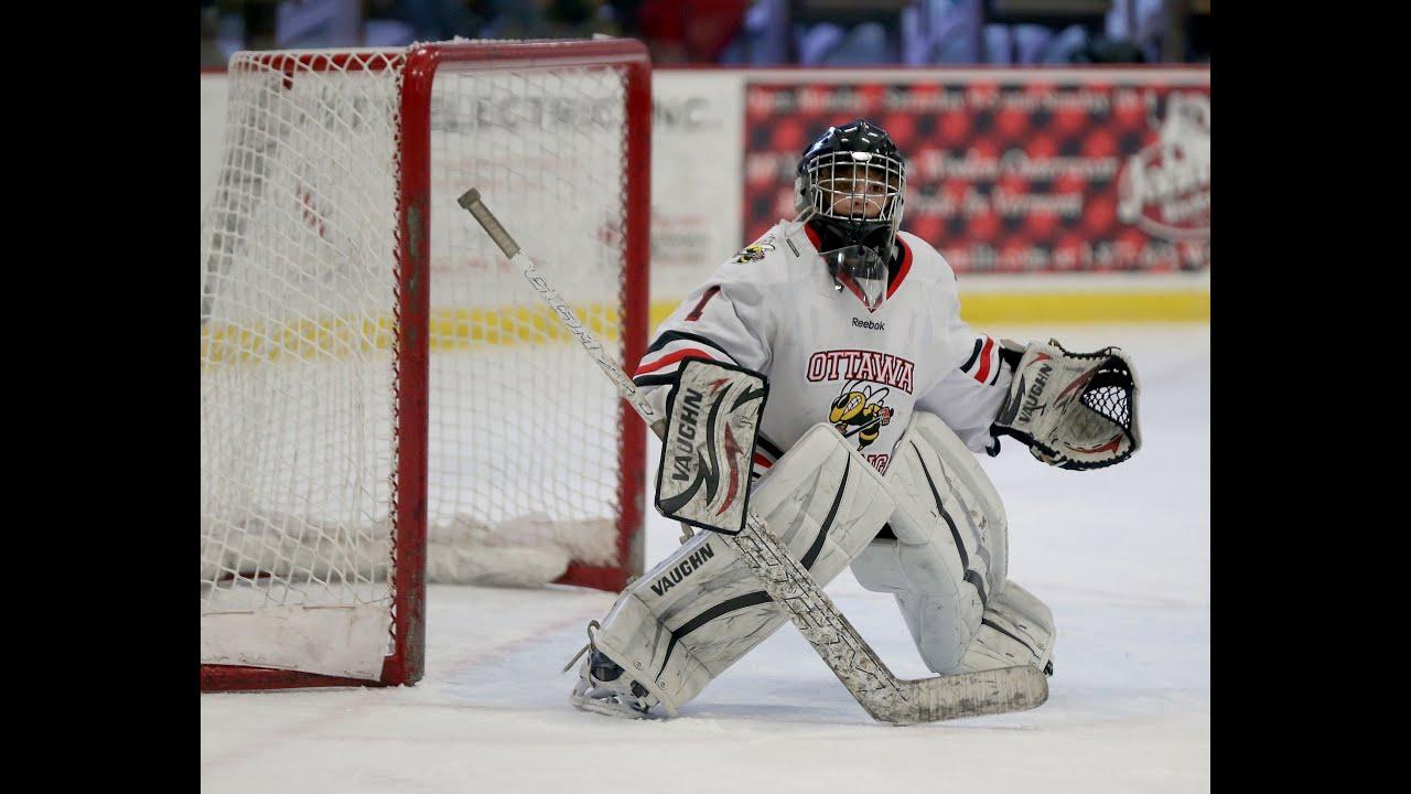 A Few Good Saves Ix 10 Year Old Hockey Goalie Youtube