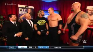 WWE Smackdown January 22 2015 The Authority Backstage Segment