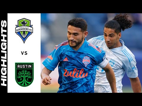 Seattle Sounders Austin FC Goals And Highlights