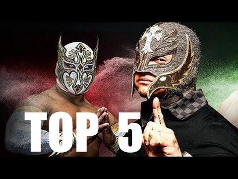 Top 5: Luchadores con dos personajes al mismo tiempo