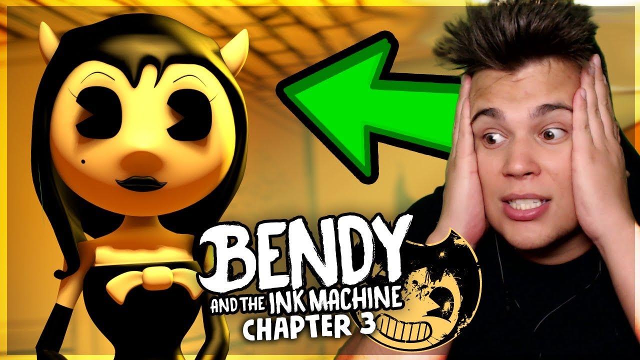 Cała prawda o Alice! – Bendy and the Ink Machine [CHAPTER 3] 2/2