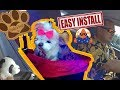 Installing Stella And Bear Cozy Boost Dog Booster Seat For Small & Medium Pet Bed How To