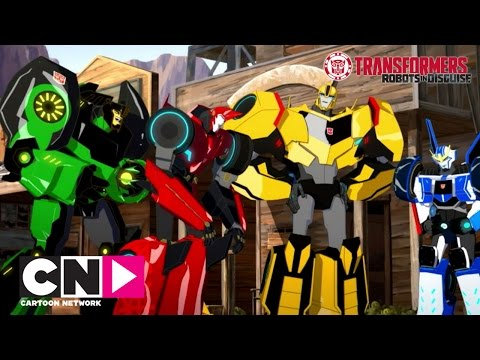 ARUNCĂ O PRIVIRE: Transformers: Robots in Disguise | Robots in Disguise | Cartoon Network