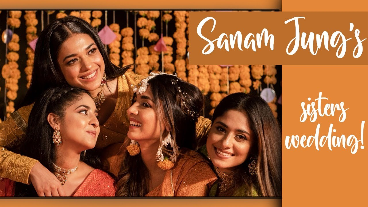 Download Sanam Jung's sister Amna's Shadi preps!