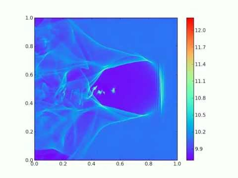 Sample jasmine 2D bubble simulation