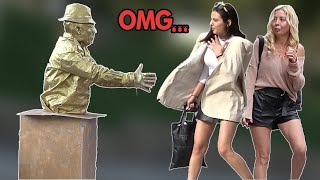 HUMAN STATUE PRANK 2019 #6 | AWESOME REACTIONS