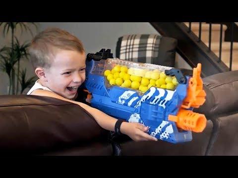 Nerf War GUN BABY: All Episodes!