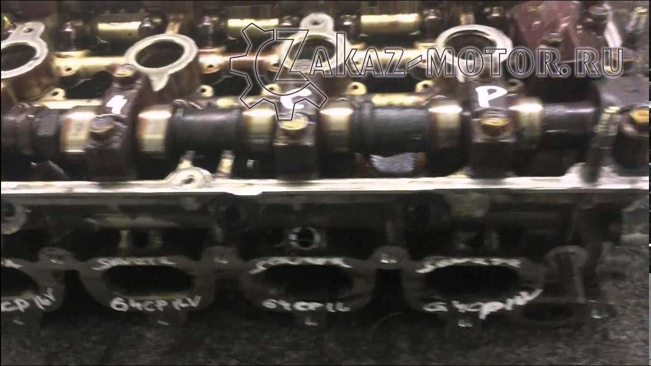 Ремонт ГБЦ Mazda 626 2.0 16V +реанимация выпускного коллектора.