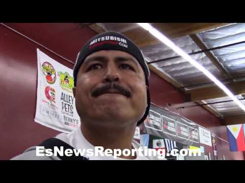 Robert Garcia on why he stopped training in Oxnard - EsNews Boxing