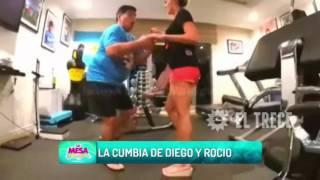 ¿Diego Maradona y Rocío Oliva con ganas de estar en el Bailando?