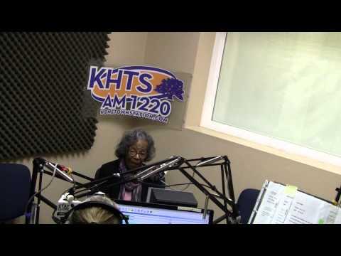 98 Year Old College Student On KHTS - November 19, 2014 - Santa Clarita