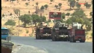 Turkey deploys tanks, military equipment to Syrian border (6/26/12)