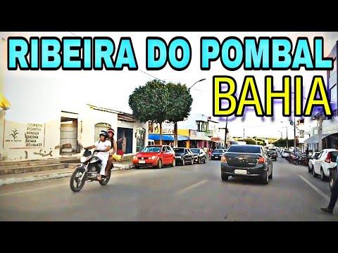 """Passando por Ribeira do Pombal-Bahia,""""Centro da Cidade e BR-110"""""""