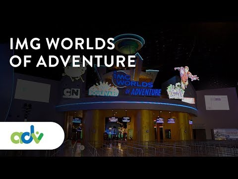IMG worlds of Adventures – biggest indoor theme park in the world!