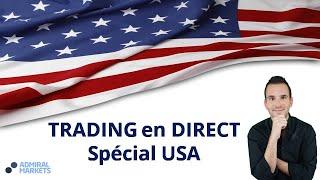 Ventes au Détail US - Trading en Direct Spécial Calendrier économique avec Admiral Markets!