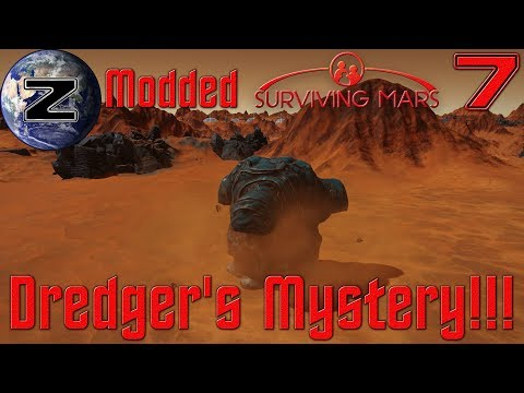 Dredger's Mystery and True Patents Mod!!! Modded Surviving Mars Gameplay 2018 - EP 7