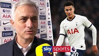 Jose Mourinho on WHAT has caused Dele Alli's change in form | Post Match