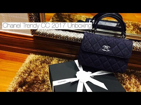 c47b9bfeb5b99a Chanel Trendy CC 2017 Unboxing - YouTube