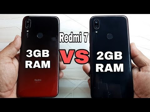 Redmi 7 (3GB) vs Redmi 7 (2GB) RAM Speed Test Comparison?
