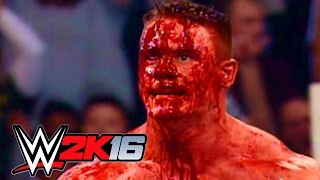 JOHN CENA vs JBL Judgment Day 2005 !!! WWE 2K16 | MrWikky92