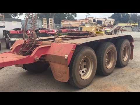 GA078 - 2012 RWT DOL Tri Axle Converter Dolly (WSD07)
