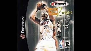 DREAMCAST NTSC GAMES: ESPN NBA 2Night