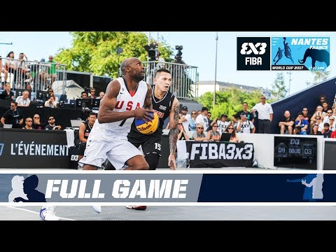 Team USA crushes Indonesia - Full Game - FIBA 3x3 World Cup 2017