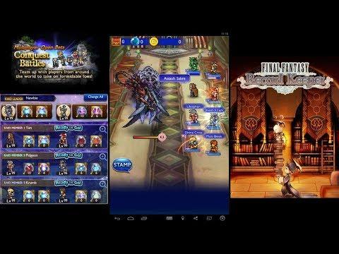 Final Fantasy Record Keeper - Multiplayer Apocalypse+ Seymour Natus (2018)