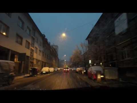 Tudi v Ljubljani sneg